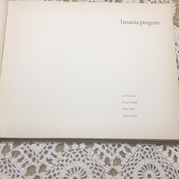 Vintage 1961 Art Of Psychotics Insania Pingens